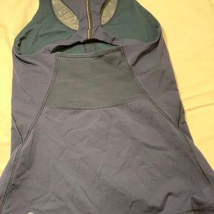 lululemon athletica Tops - Lululemon Blue Workout Shirt